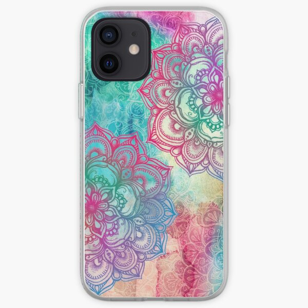 Round and Round the Rainbow iPhone Soft Case