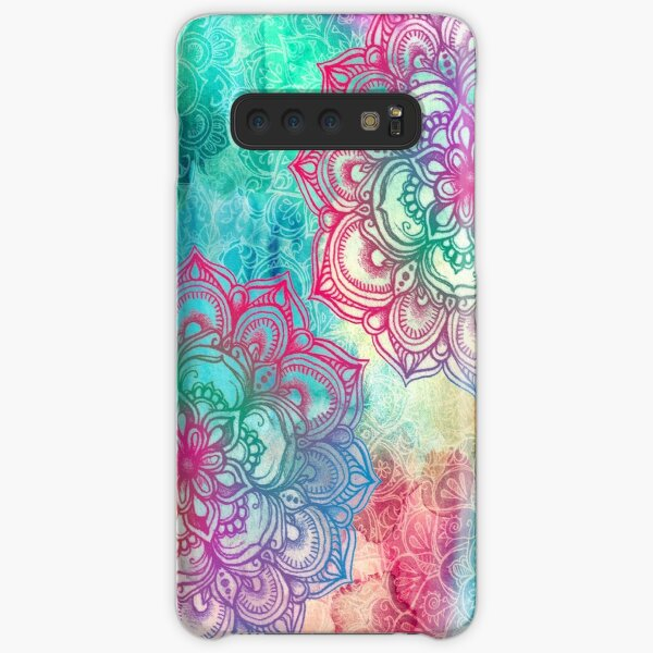 Round and Round the Rainbow Samsung Galaxy Snap Case