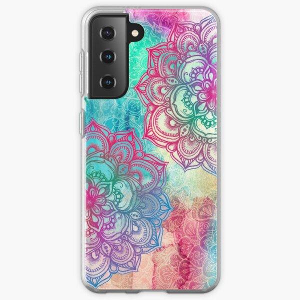 Round and Round the Rainbow Samsung Galaxy Soft Case