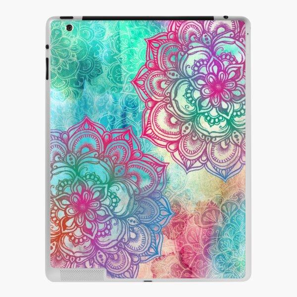 Round and Round the Rainbow iPad Skin