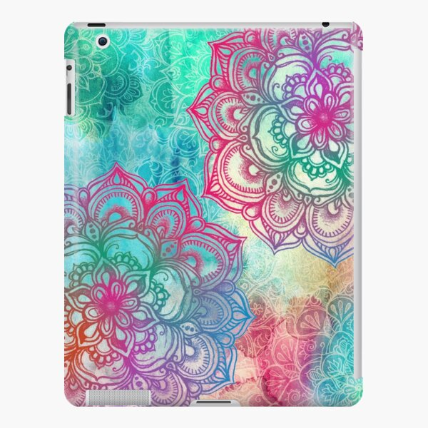 Round and Round the Rainbow iPad Snap Case