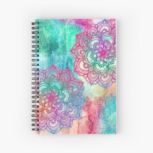 Round and Round the Rainbow Spiral Notebook