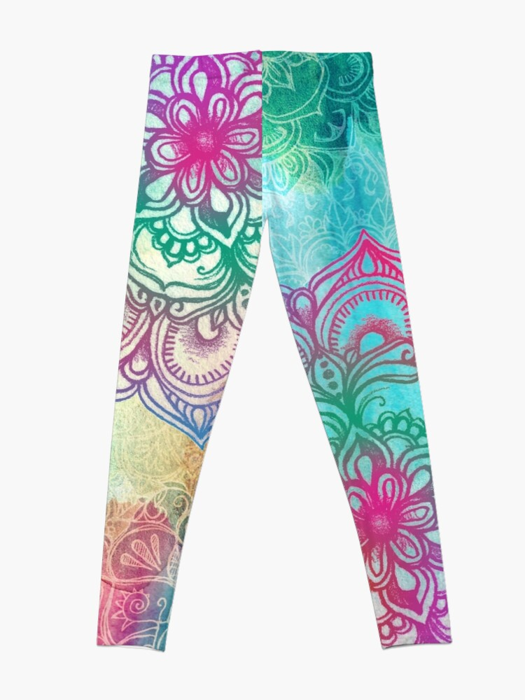 Alternate view of Round and Round the Rainbow Leggings