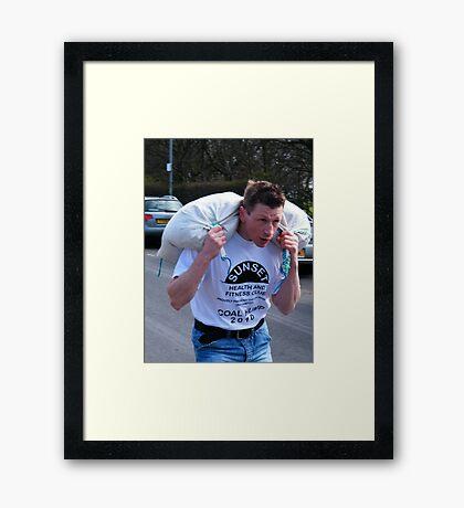 Raw Guts 1 Framed Print