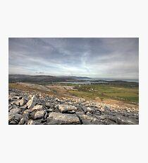 Burren Scenery Photographic Print