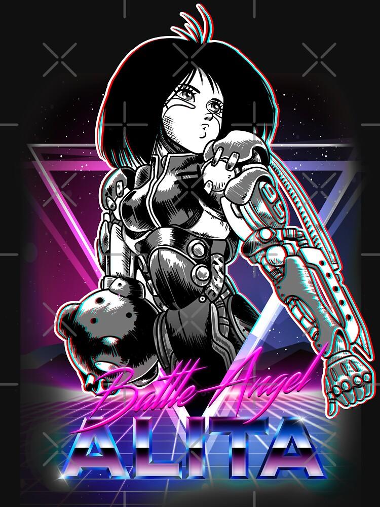 Motorball Battle Angel by Retro-Freak