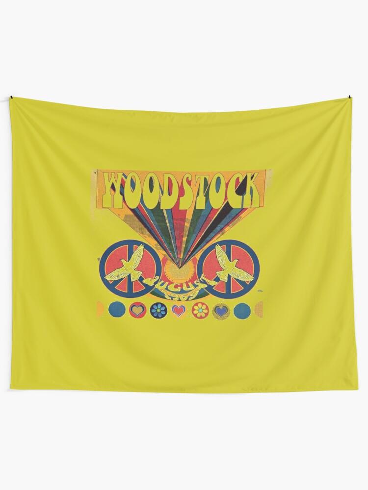Alternate view of Woodstock Tapestry