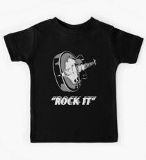 the rock t-shirt Kids Clothes