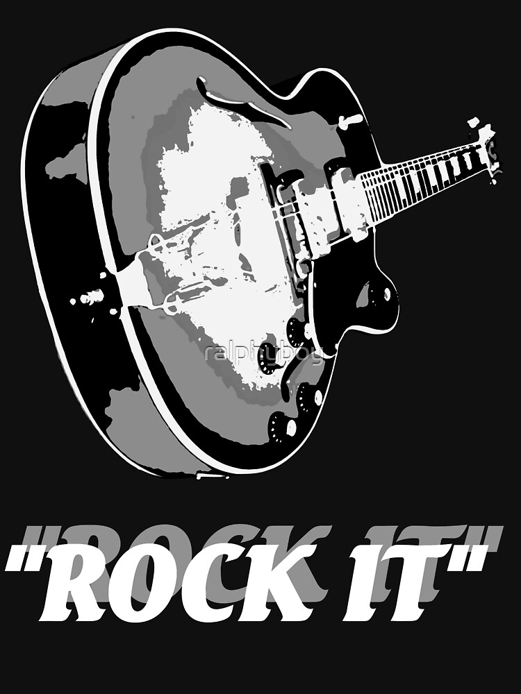 the rock t-shirt by ralphyboy