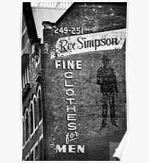 Rex Simpson Poster