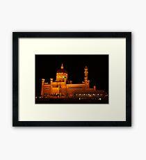 Sultan Omar Ali Saifuddin Mosque, Brunei 1 Framed Print