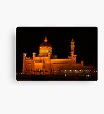 Sultan Omar Ali Saifuddin Mosque, Brunei 1 Canvas Print