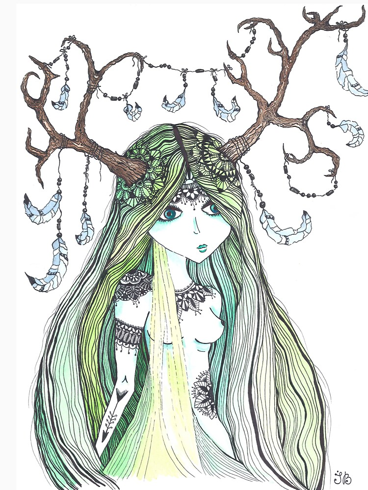 Forest fairy  by Ibubblesart