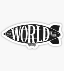 Who's World Is This? Sticker
