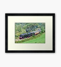 Along the Dee Valley Framed Print