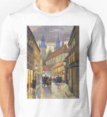 Prague Old Street Stupartska Unisex T-Shirt