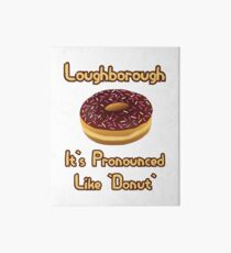Doughnut Art Board Print