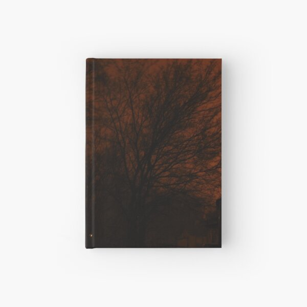 Staring into the Brink of Darkness Hardcover Journal