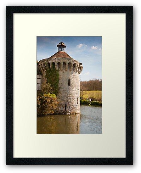 Scotney Castle Kent UK: Turret Detail by DonDavisUK
