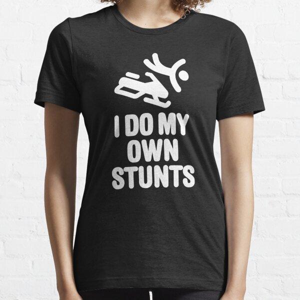 Yo hago mis propios trucos: snowmobile Camiseta esencial