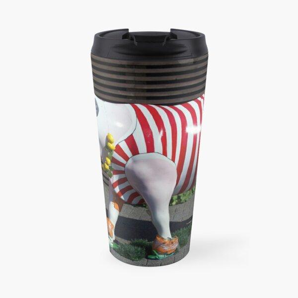 Painted Cow on Holiday - at Floriade Travel Mug