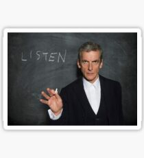 Doctor Who - Listen Sticker