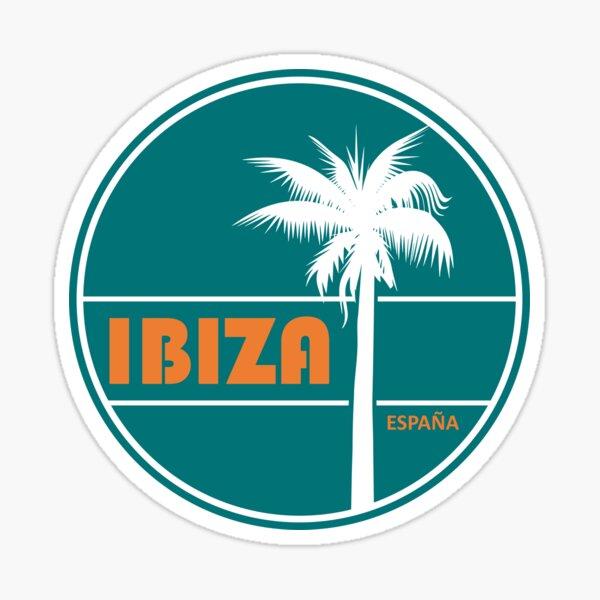 Retro Ibiza Summer Pegatina