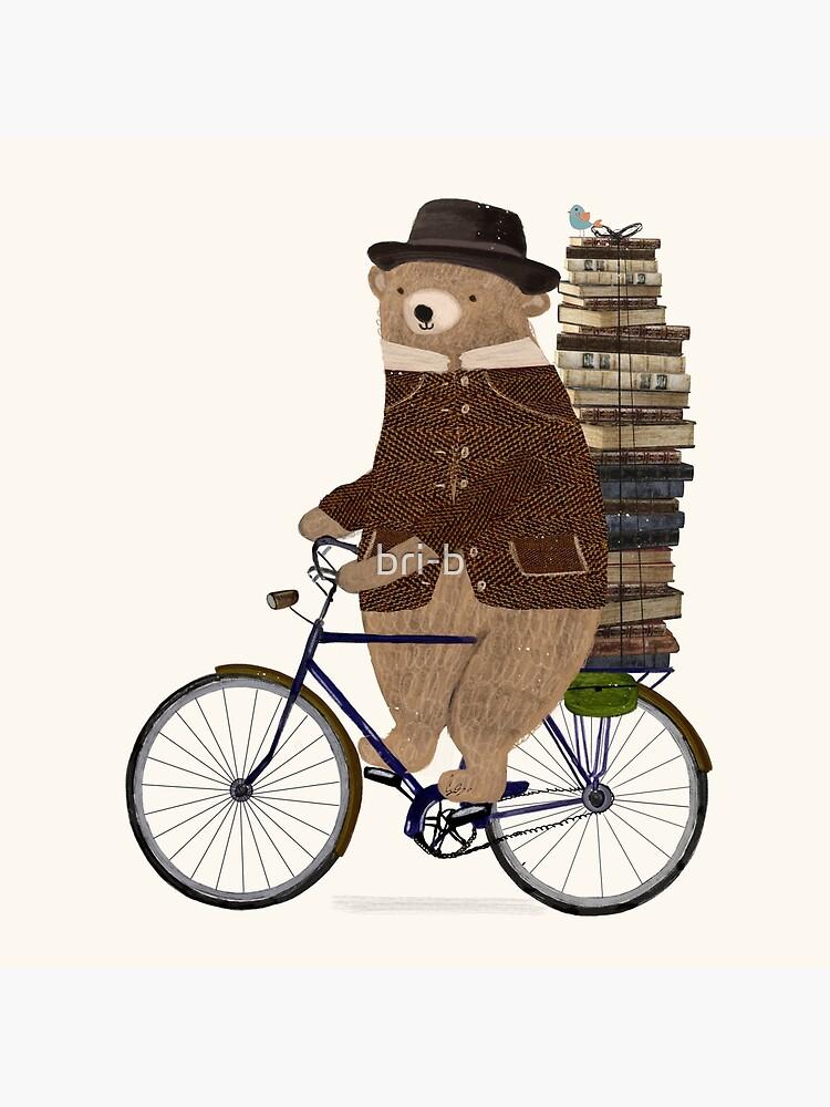 an educated bear by bri-b