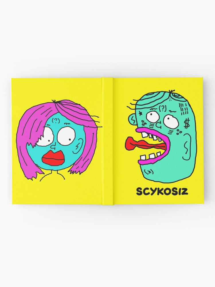 Alternate view of Scykosiz and HER - Hardcover Journal Hardcover Journal