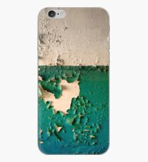 Wand mit Peeling Green Blue und White Paint iPhone-Hülle & Cover