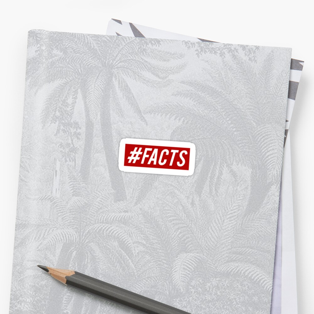 #Facts Sticker, FACTS Sticker by magzmt