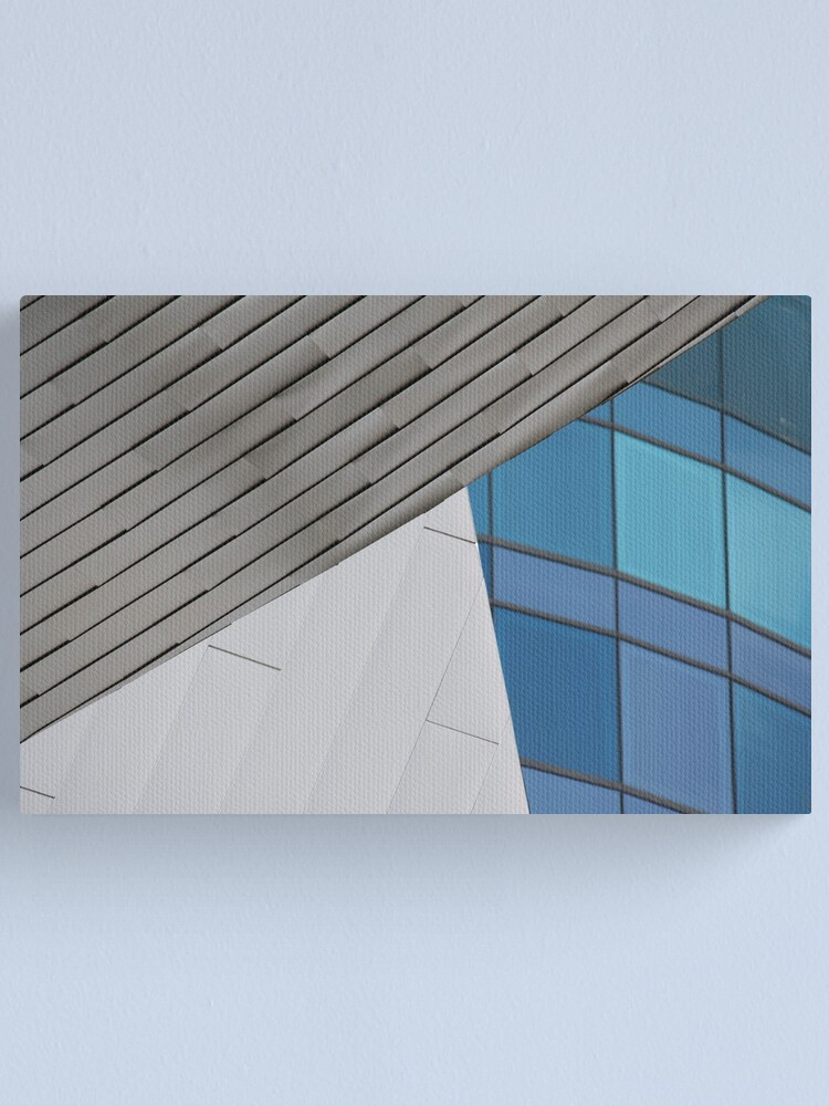 Alternate view of Angular Canvas Print