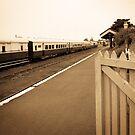 Queenscliff Station by Jack Jansen