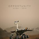 Opportunity / 2004 - 2019 by jonathankemp