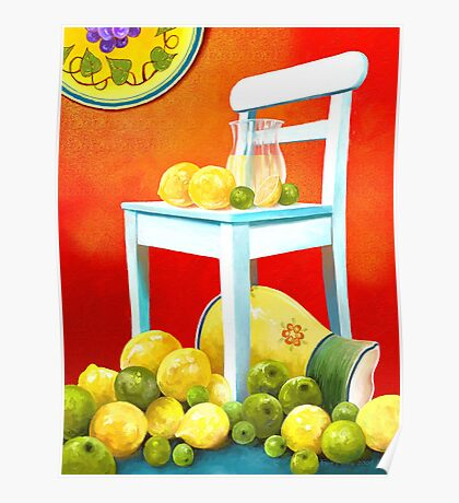 Fruity Siesta Poster