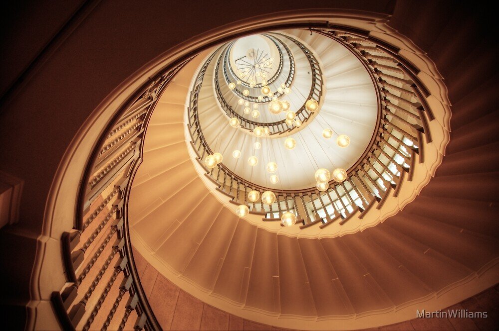 Spiral Stairs - London by MartinWilliams