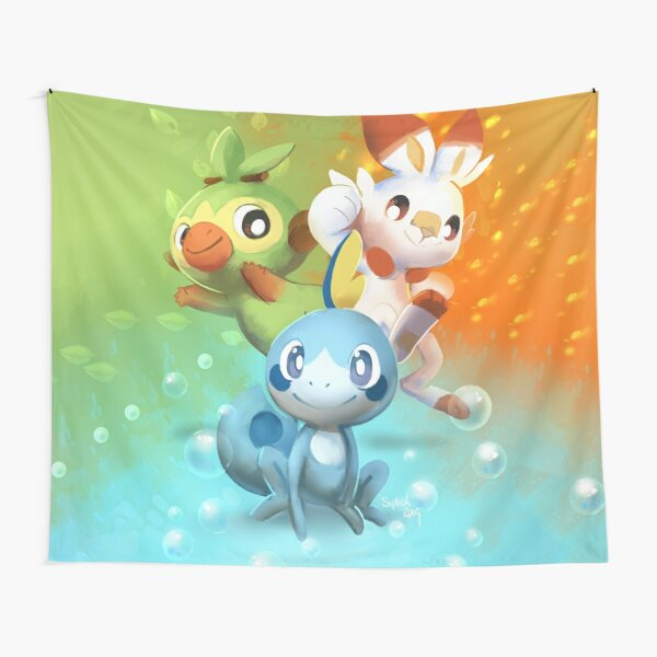Let's head into the Galar Region! Tapestry