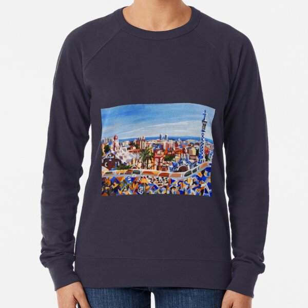 Barcelona Lightweight Sweatshirt