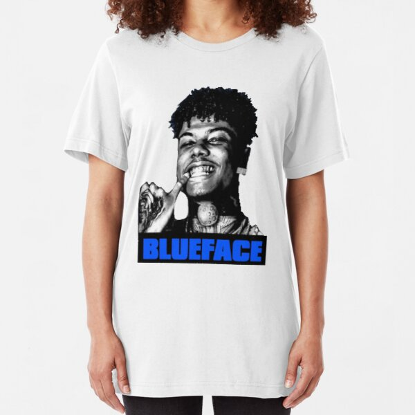 Blueface Baby Logo Slim Fit T-Shirt