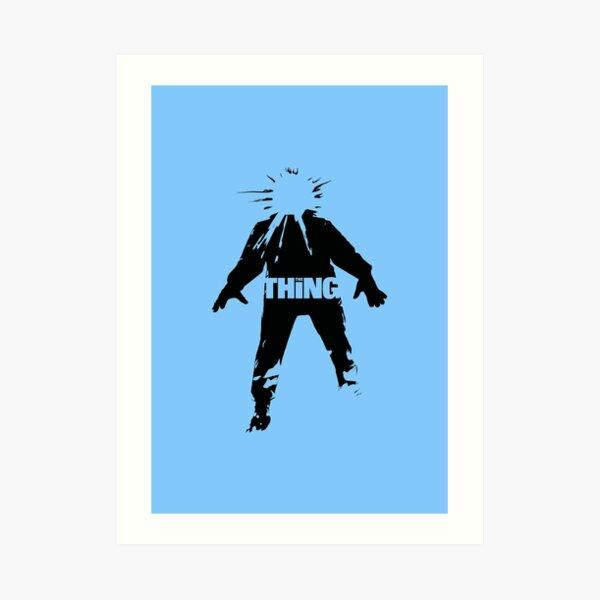 The Thing | horror cinema nostalgia Art Print