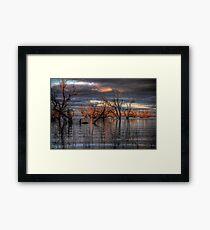 Lake Pamamaroo Framed Print