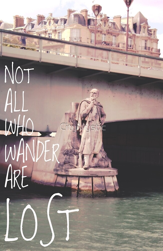 Wander Lust in Paris by CityMystic