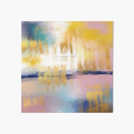 Light abstract  Art Board Print