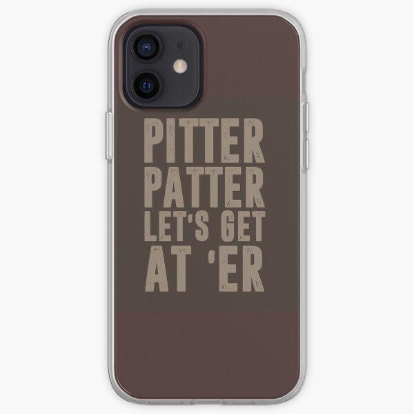 pitter patter lets get them er iPhone Soft Case