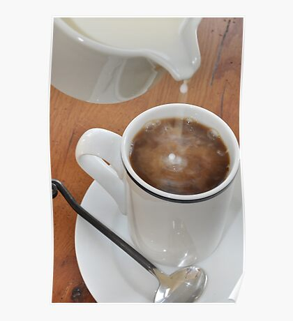 What does my COFFEE SAY? Poster