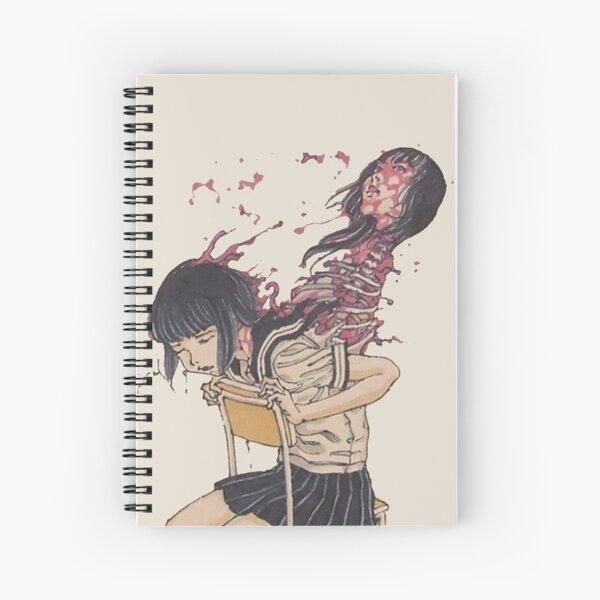 Japanese schoolgirl implodes Spiral Notebook