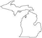 Michigan in White by Sun Dog Montana