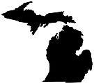 Michigan in Black by Sun Dog Montana