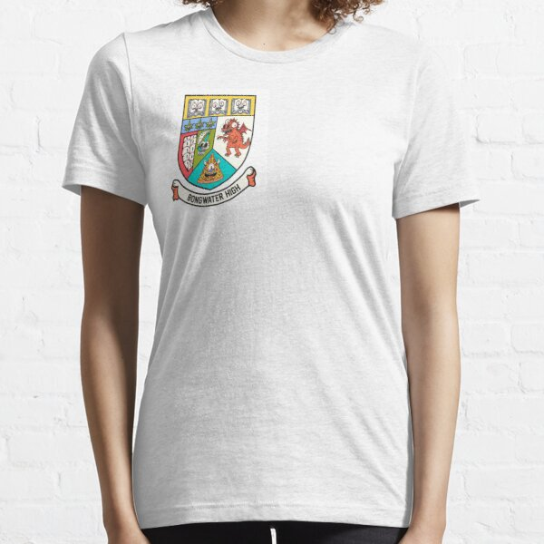 The Bongwater High School Crest Essential T-Shirt