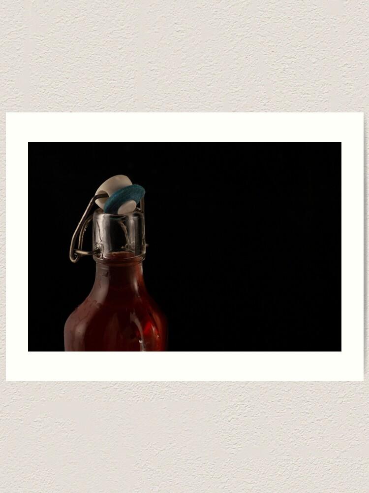 Alternate view of Let's Drink Art Print